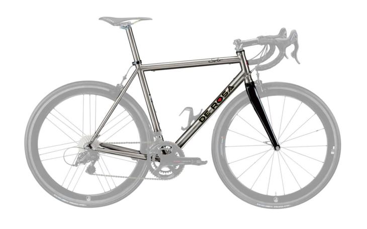 De Rosa Titanio Solo 2020 frame cicli corsa