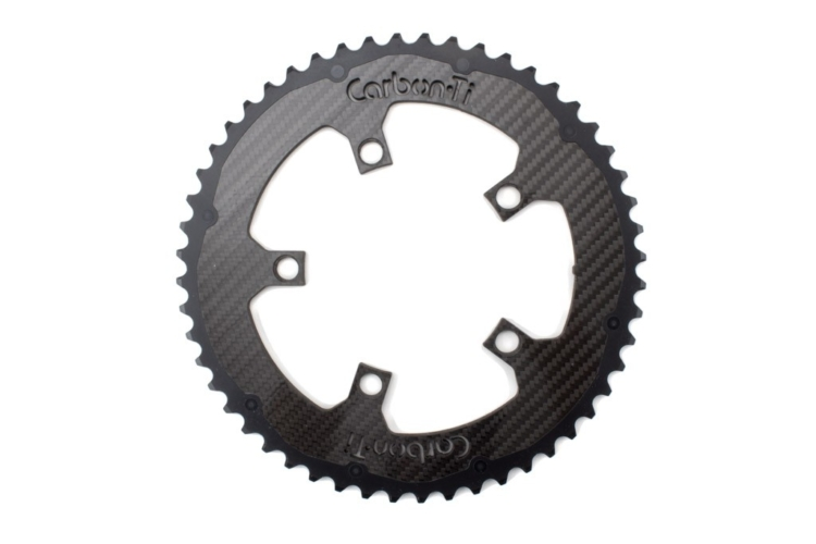 Carbon-Ti X-Ring Carbon Chainring