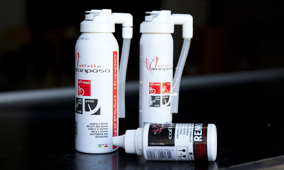 Effetto Mariposa - Sealants and accessories for tires and tubulars