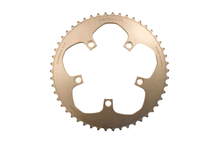 Carbon-Ti X-Ring Titanium Road Chainring