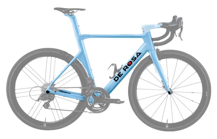 Cicli Corsa De rosa SK Azzurra frame