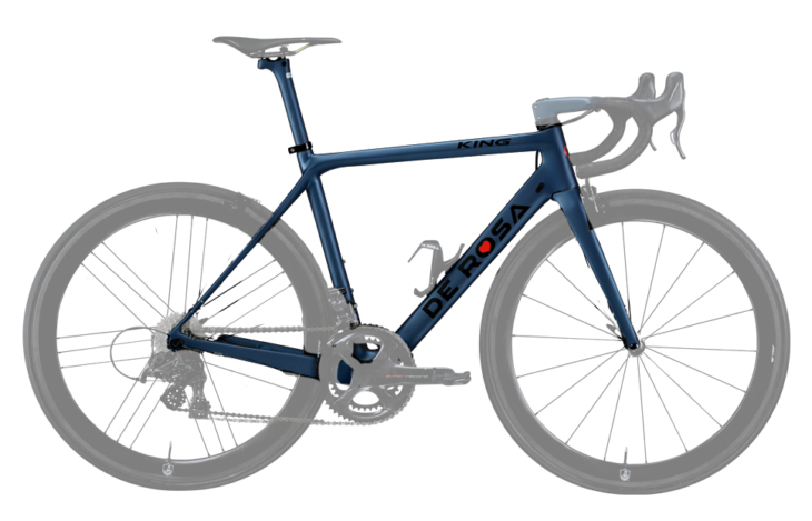 Cicli Corsa De Rosa King Black label frame