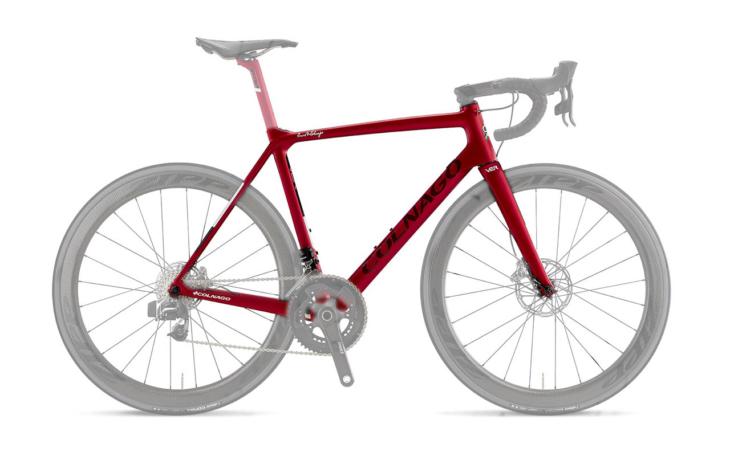Colnago V2-R Disc Frameset Red VJRD