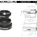 Columbus Headset 1-4 Tapered