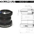 Columbus Headset 1-4 cylindric