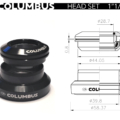 Columbus Headset 1-5 cylindric