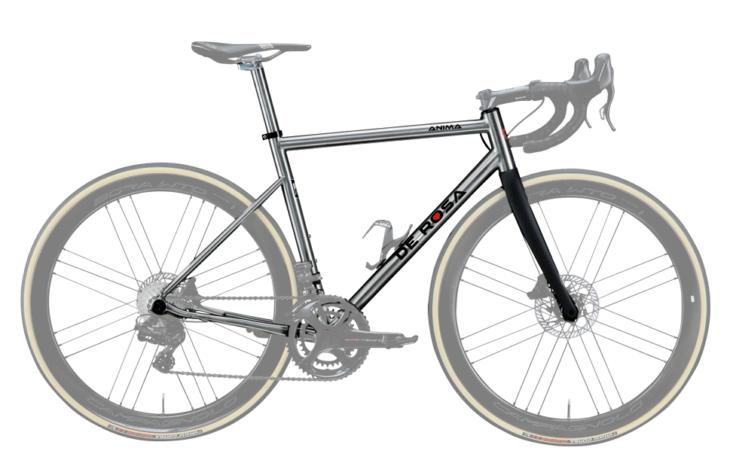 Cicli Corsa De Rosa Anima Disc frame