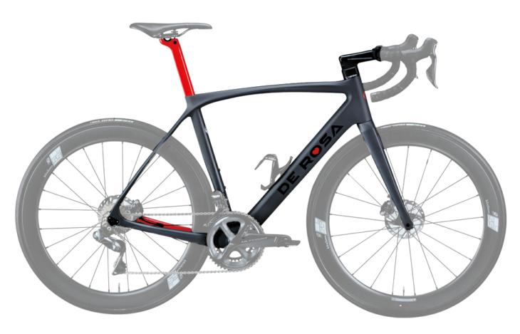 Cicli Corsa De Rosa Idol Disc Grey frame