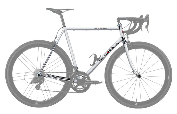 Cicli Corsa De Rosa Nuovo Classico Bianco frame