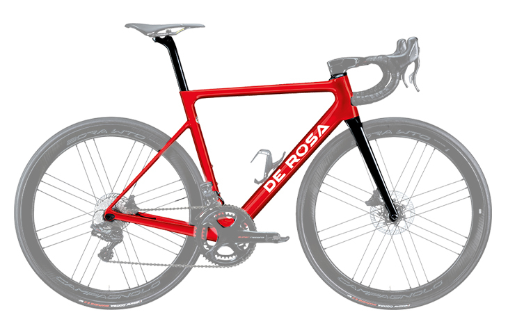 Cicli-Corsa-De-Rosa-Merak Red 2020 frame