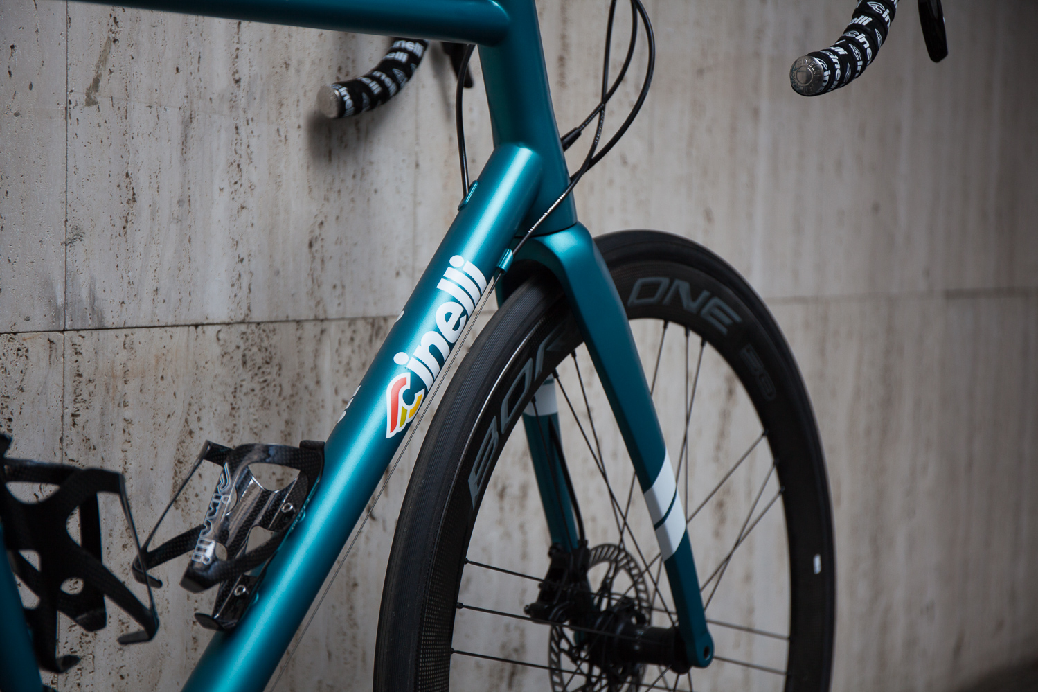 Cicli corsa Cinelli Nemo Tig Disc Turquoise matte -15