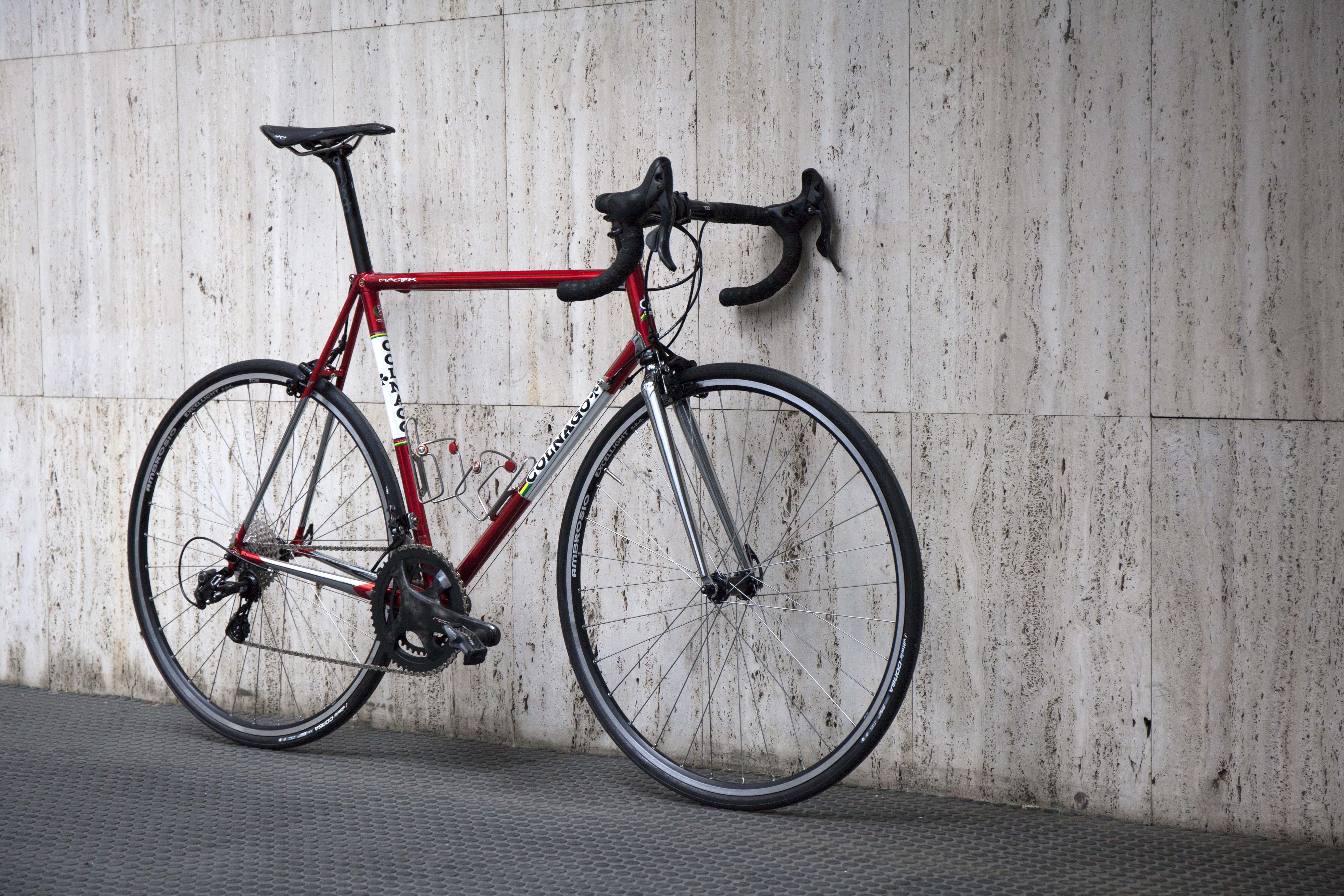 Cicli Corsa Colnago Master Saronni Red Campagnolo record 12