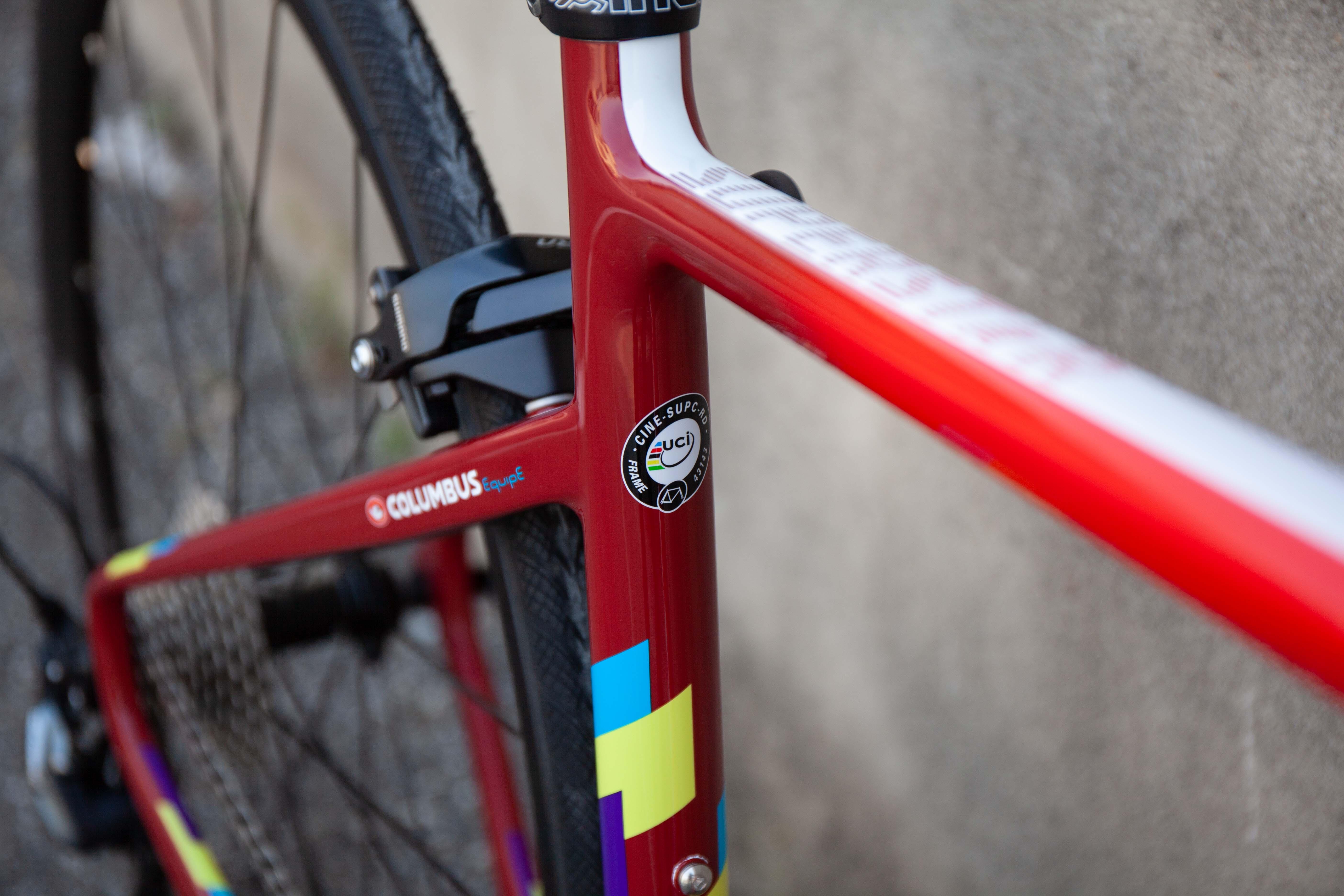 Cicli Corsa Cinelli Superstar rim red 2020