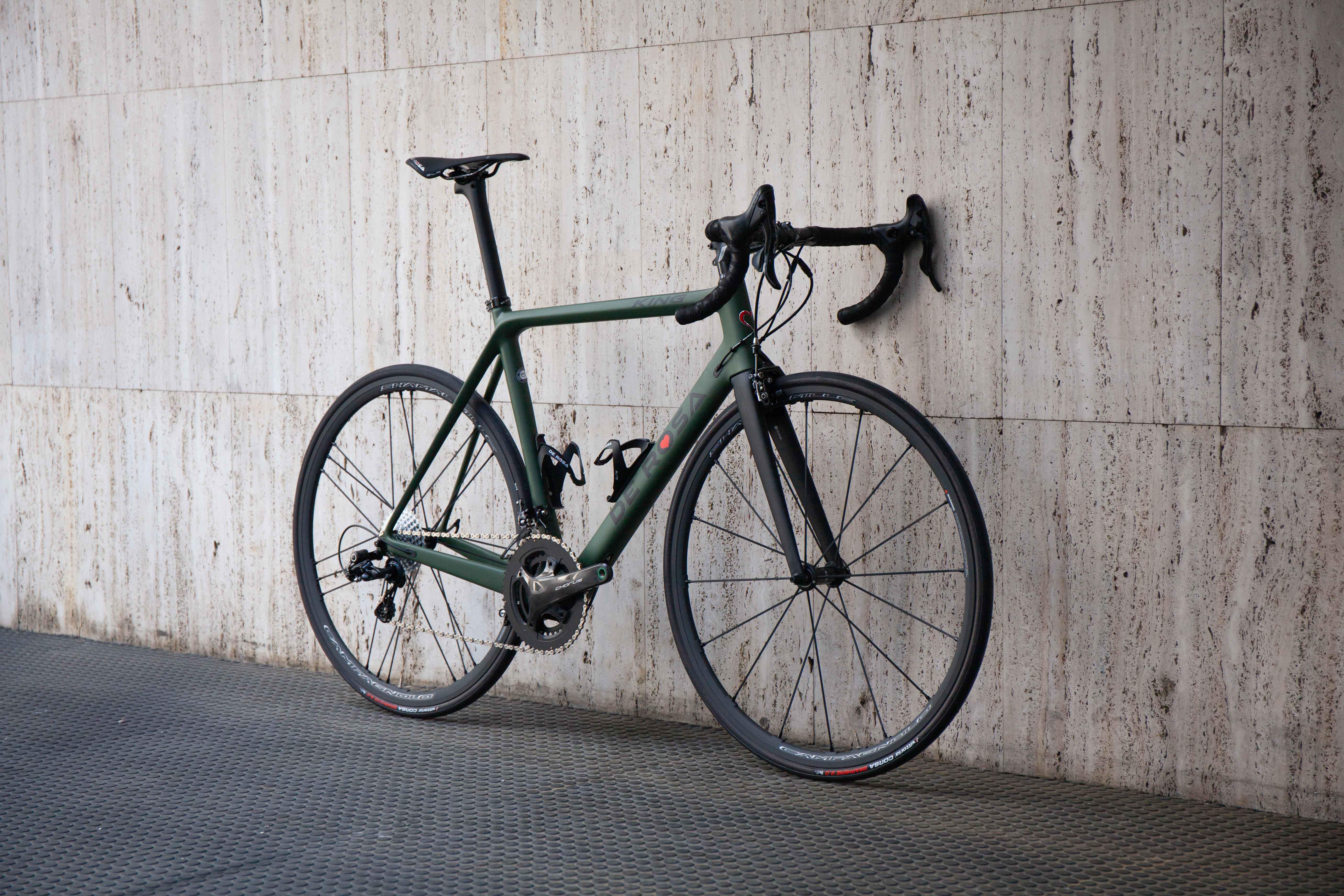 Cicli Corsa De rosa King Chorus 55 Verde -2