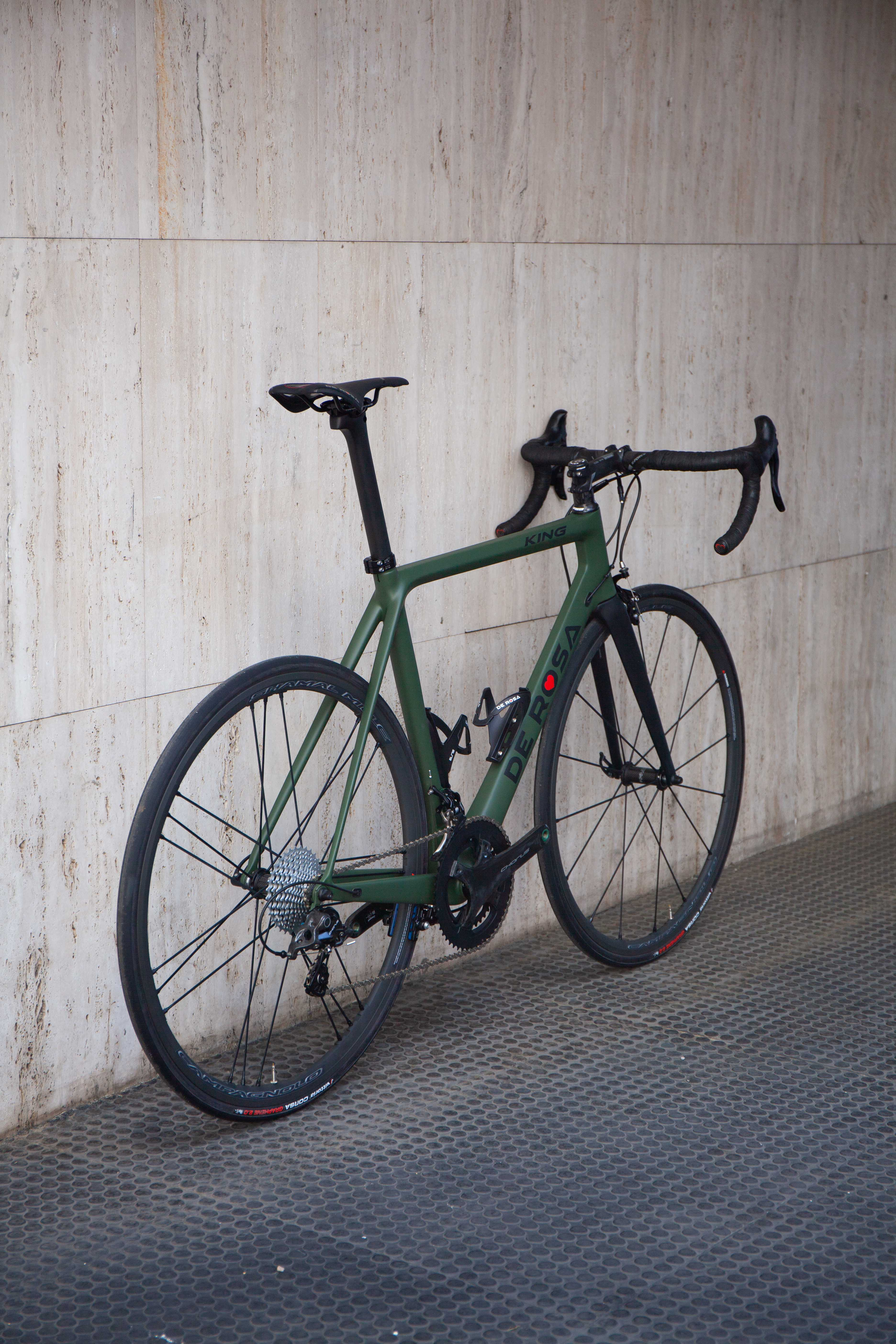 Cicli Corsa De rosa King Chorus 55 Verde -5