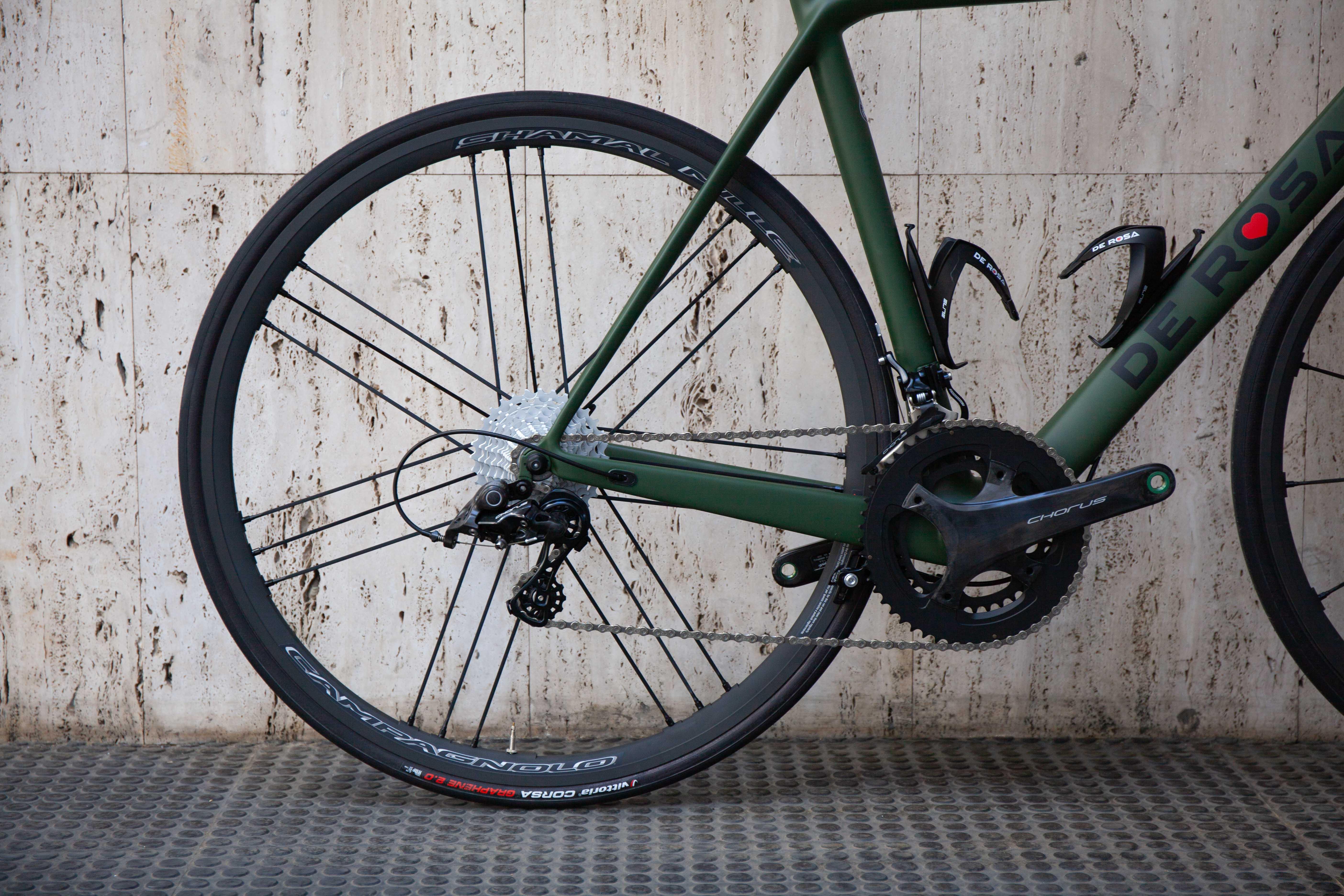 Cicli Corsa De rosa King Chorus 55 Verde -6