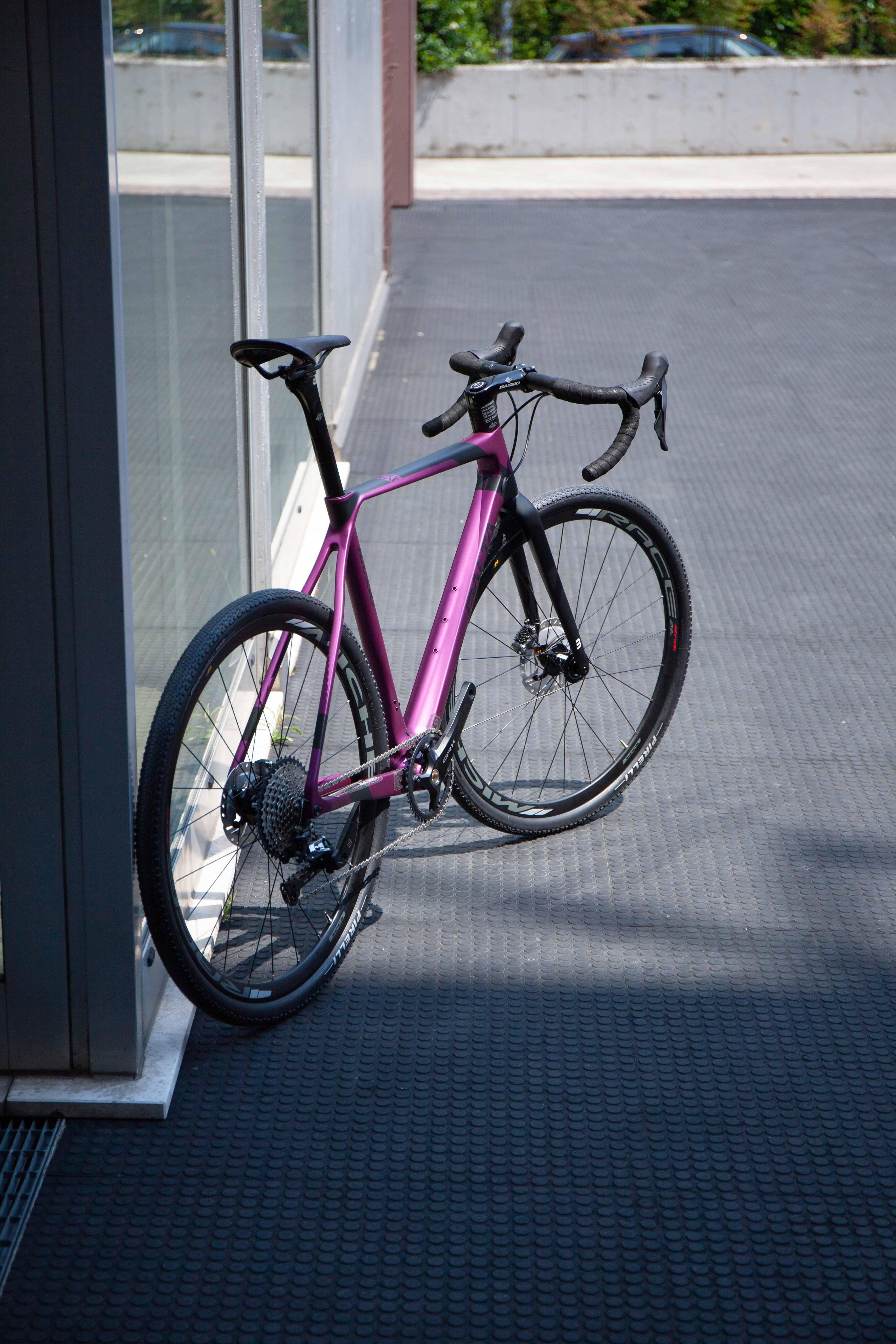 Cicli Corsa Basso Palta Purple L grx-10