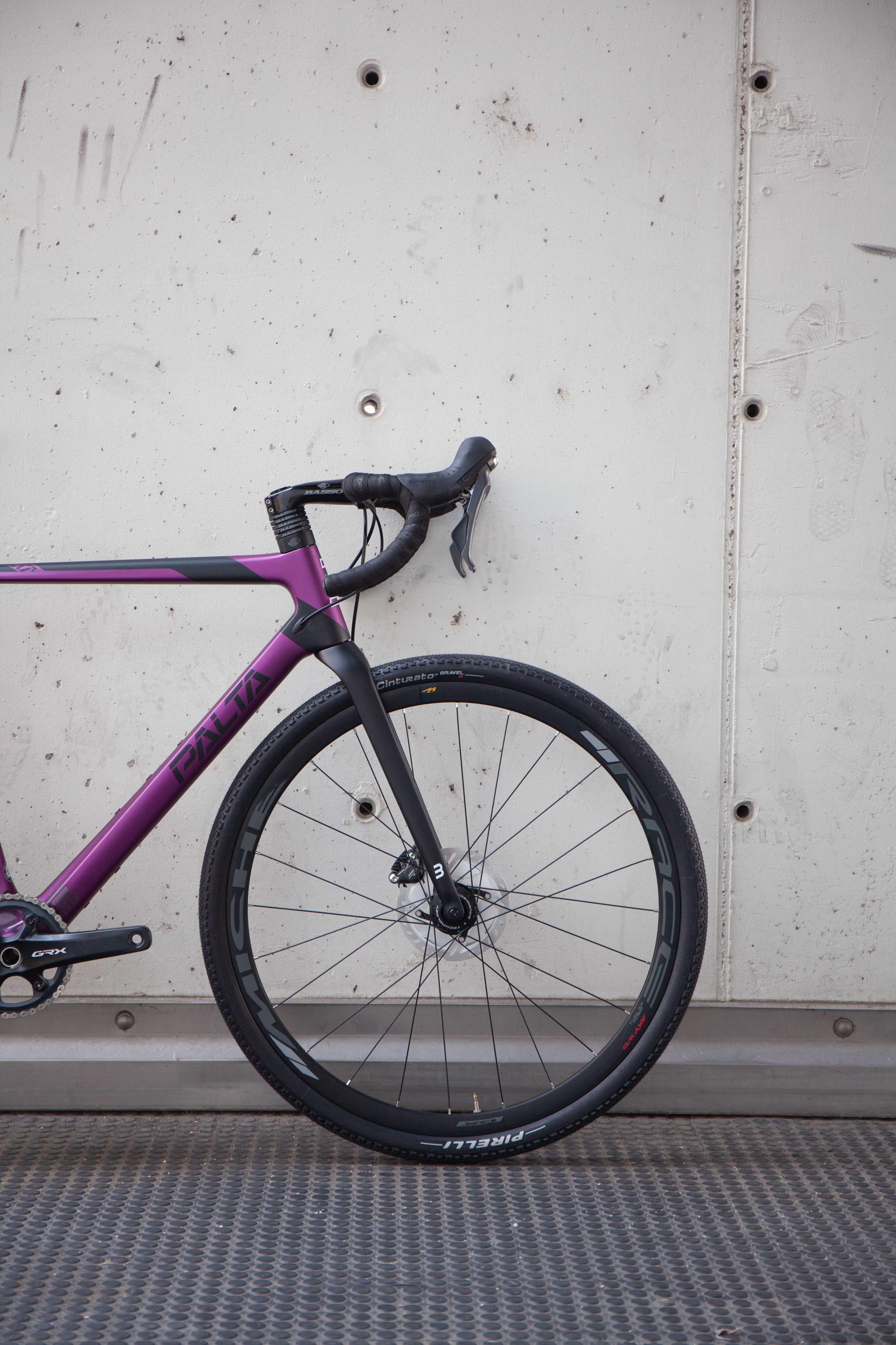 Cicli Corsa Basso Palta Purple L grx-4