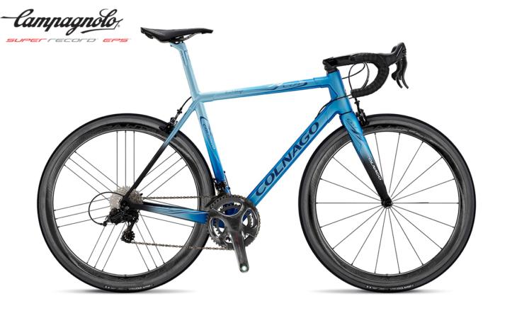 Cicli Corsa Colnago C64-BDBL campagnolo super record EPS WTO 45 rim