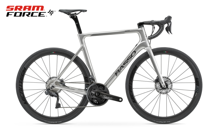 Cicli Corsa Basso Astra Ice Silver Force