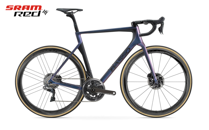 Cicli Corsa Basso Diamante-SV_Chameleon-Black.sram red wto copia