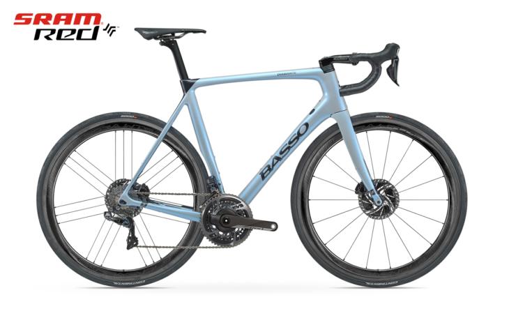 Cicli Corsa Basso Diamante_Disc_Opal_White Sram Red