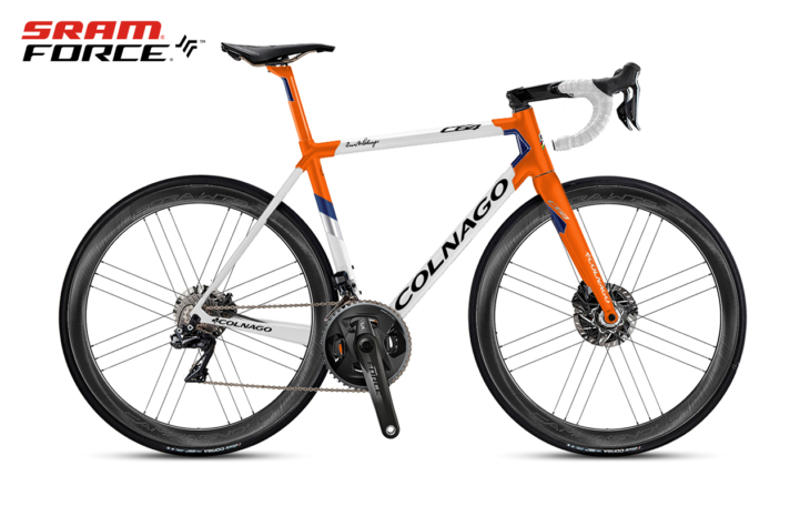 Cicli Corsa Colnago C64 MySixty4.sram force.wto disc