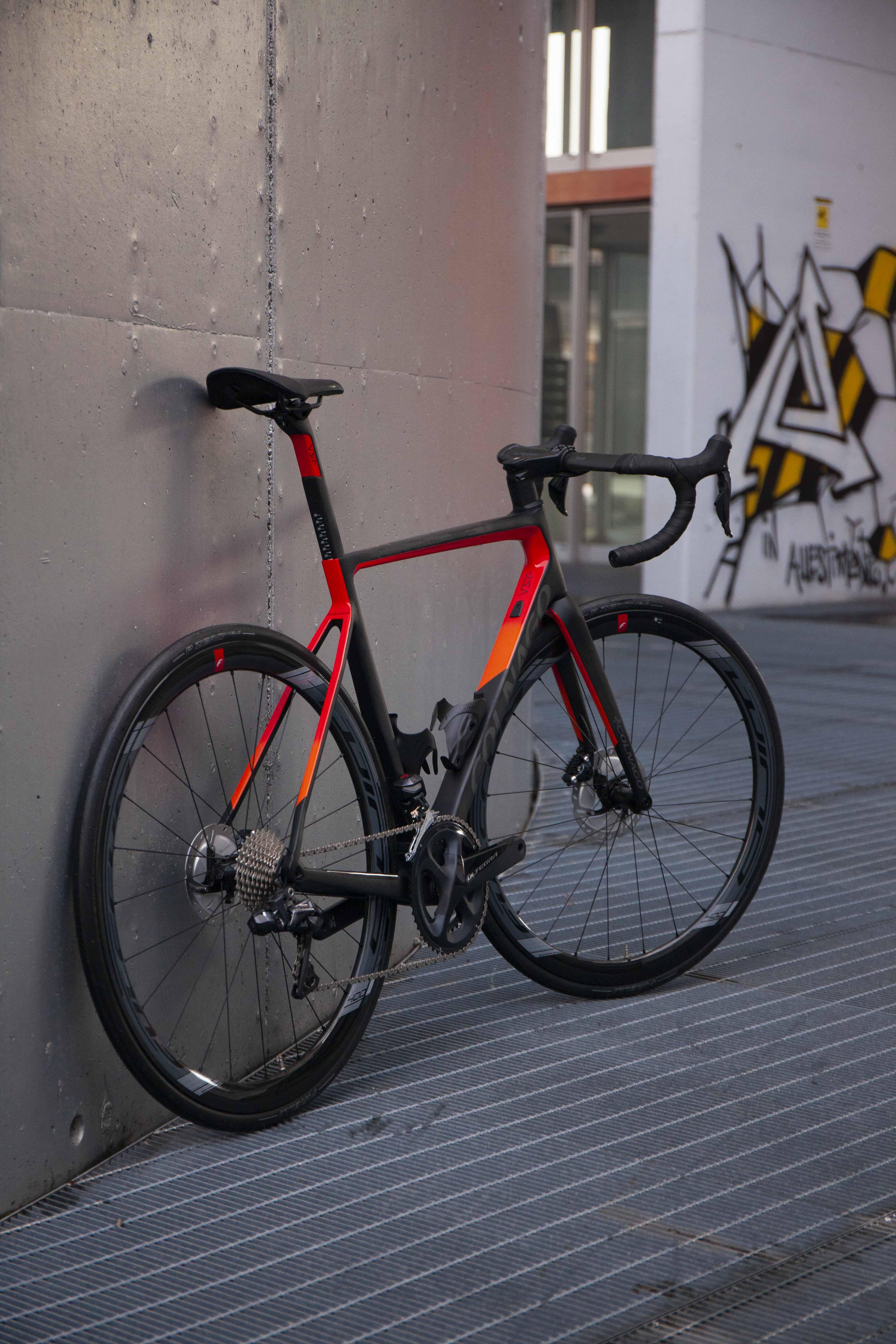Cicli Corsa Colnago V3Rs 52s RZRD Ultegra Di2 Fulcrum Racing Wind 40_8